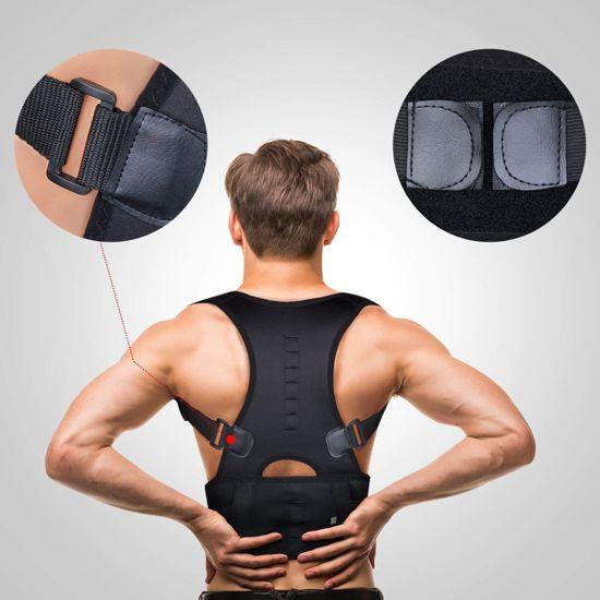 correttore posturale alla schiena