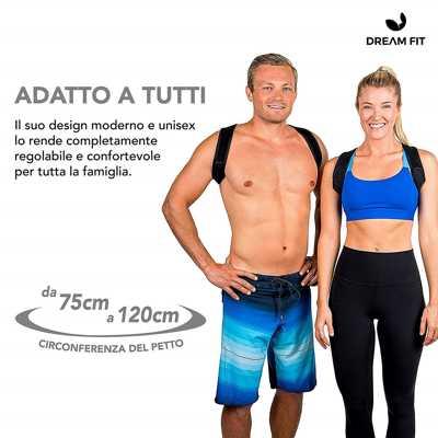 migliore correttore posturale italiano